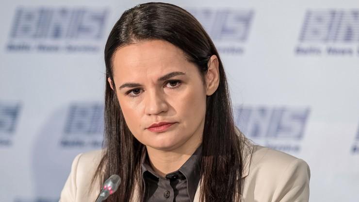 Cichanouska: sąd wyda wyroki ws. ludobójstwa na Białorusi