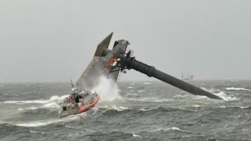 Statek wywrócił się u wybrzeży USA. Trwa akcja ratunkowa