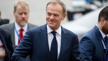 """Donald Tusk ponownie szefem Rady Europejskiej. """"Dziękuję za trzymanie kciuków"""""""