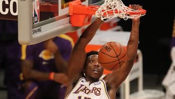 """NBA: Trzecie zwycięstwo """"Jeziorowców"""". James i Davis wrócili do gry"""