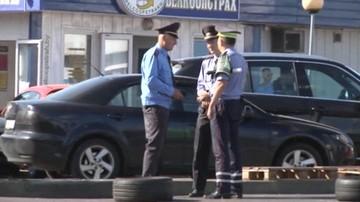 Zniknęło koczowisko Czeczenów na granicy z Polską