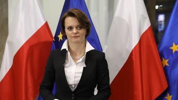 """""""Na dziś ten rozdział został zamknięty"""". Emilewicz o kandydowaniu na prezydenta Krakowa"""