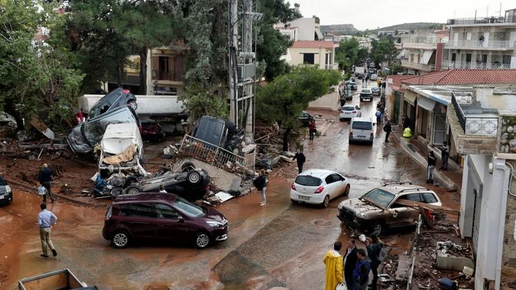 Powodzie w Grecji. Nie żyje 19 osób, bilans może wzrosnąć