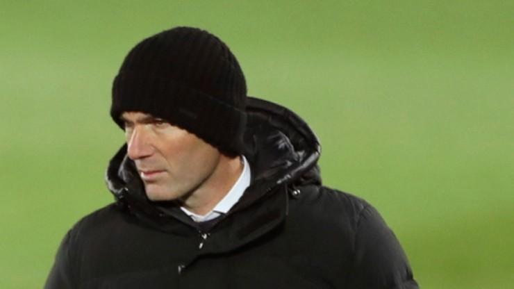 Media: Zinedine Zidane w izolacji. Miał kontakt z zakażoną osobą