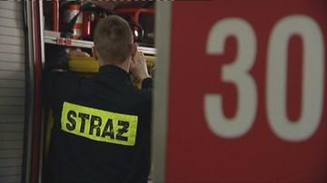 Mężczyzna zginął w pożarze opuszczonego budynku w Częstochowie