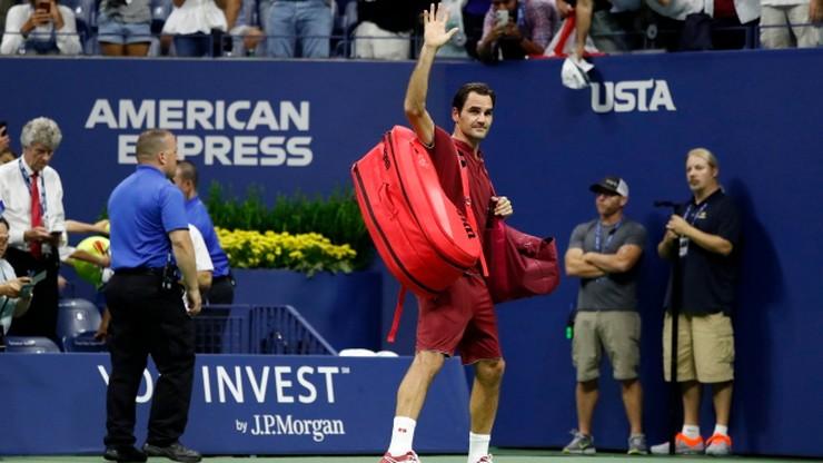 US Open: Federer odpadł w czwartej rundzie