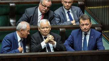 Kaczyński o reparacjach: w szeregach totalnej opozycji są ambasadorowie stanowiska Niemiec