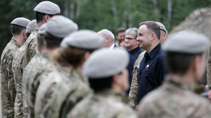 Andrzej Duda odwiedził ośrodek szkolenia jednostki GROM