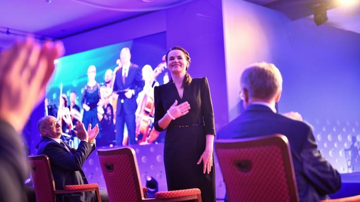 Forum Ekonomiczne w Karpaczu. Nagrodzono PGNiG i prezesa PKO BP, Cichanouska z nagrodą specjalną