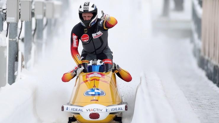 PŚ w bobslejach: Dziewiąty w sezonie triumf niemieckiego pilota