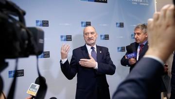 Macierewicz: Rosja największym zagrożeniem dla bezpieczeństwa świata