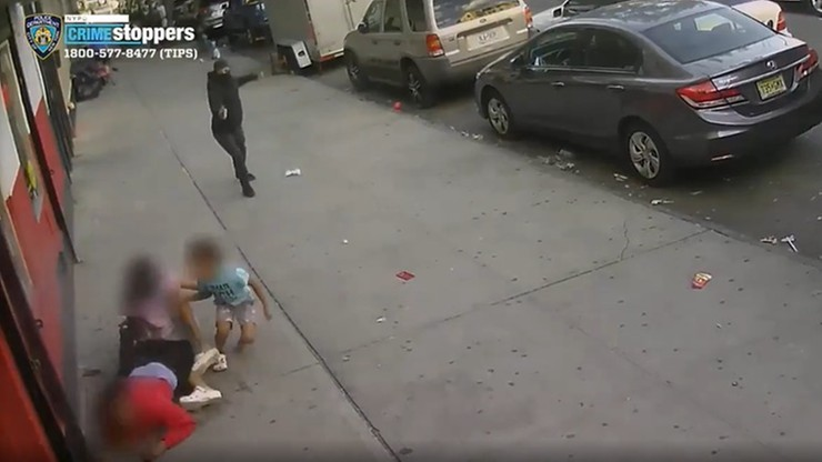 Porachunki gangów w Nowym Jorku. Dzieci w środku strzelaniny