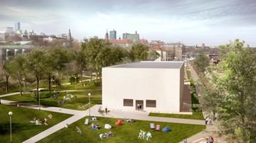Nad Wisłą powstaje składany pawilon. Tymczasowa siedziba Muzeum Sztuki Nowoczesnej