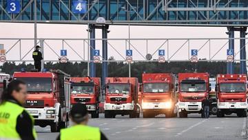 Polscy strażacy wrócili ze Szwecji. Uroczyste powitanie w Świnoujściu