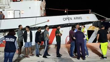 Pięć państw UE zgodziło się przyjąć migrantów ze statku Open Arms