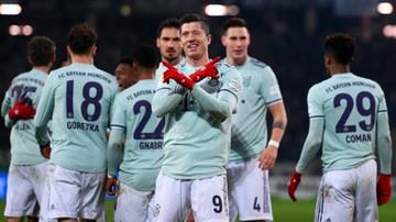 """Wysoki triumf Bayernu. Dziesiąte trafienie """"Lewego"""""""