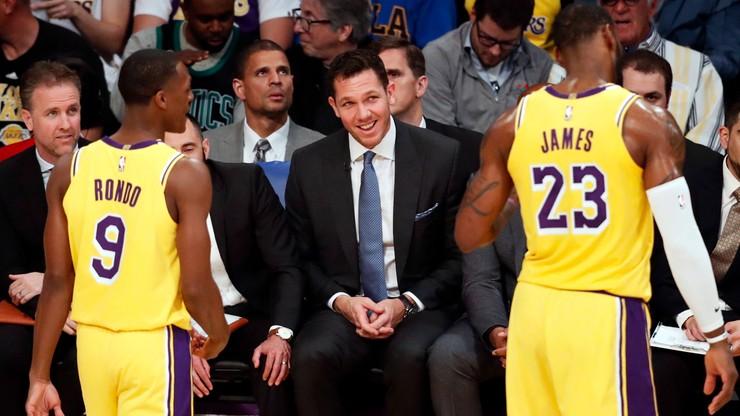James i Lakers liderami sprzedaży koszulek i pamiątek
