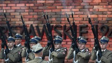 74. rocznica wybuchu powstania warszawskiego. Upamiętniono wydanie rozkazu rozpoczęcia zrywu
