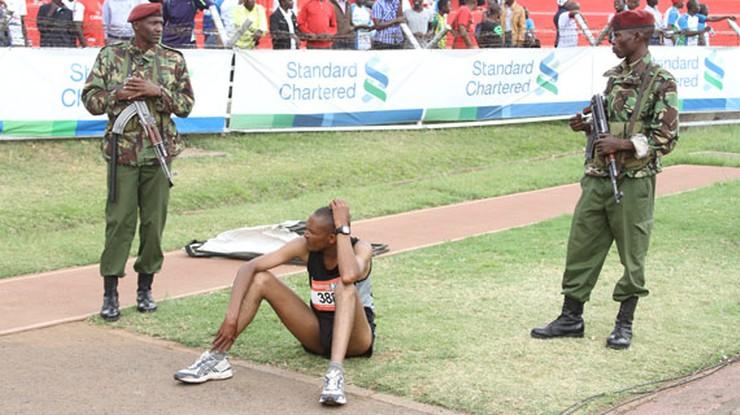 Biegacz oszust. Kenijczyk chciał skrócić sobie maraton o ponad 40 kilometrów