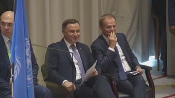 Duda o rozmowie z Tuskiem: usiedliśmy jak Polak z Polakiem