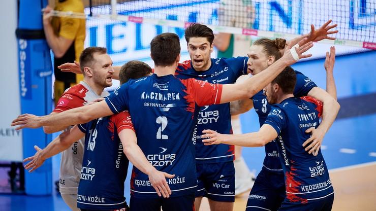 PlusLiga: Szybkie 3:0. Grupa Azoty ZAKSA Kędzierzyn-Koźle w finale! - Polsat Sport