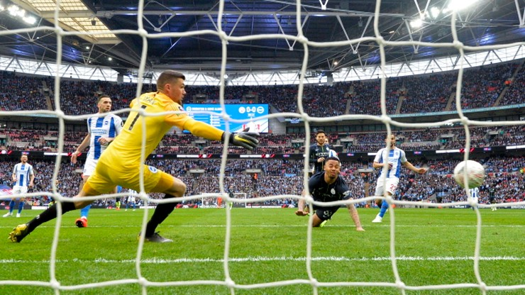 Puchar Anglii: Manchester City pierwszym finalistą