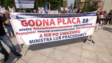 "Strajk pielęgniarek. ""Medycy pod Sejmem"""