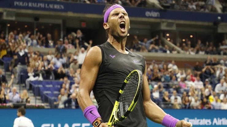 US Open: Nadal stracił seta, ale awansował do ćwierćfinału