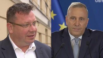 """""""Grzegorz Schetyna znowu kłamie"""". Wójcik o słowach lidera PO dot. budżetu resortu sprawiedliwości"""