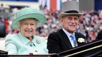 Królowa Elżbieta II była przy śmierci męża
