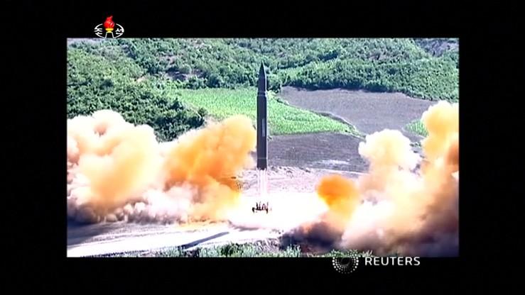 Wywiad Korei Płd.: Północ nie ma technologii ponownego wprowadzania międzykontynentalnych pocisków balistycznych