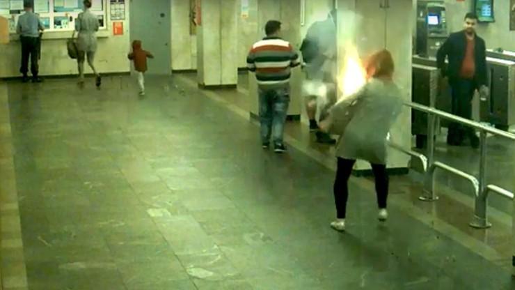 Wybuch w metrze. Eksplodował e-papieros w plecaku pasażerki