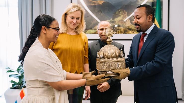 Holandia zwróciła Etiopii koronę z XVIII wieku