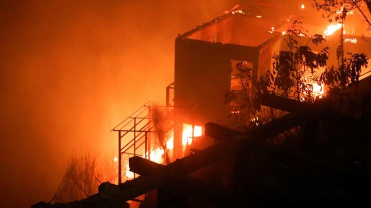 Tragiczny pożar w Chile. Setki osób straciły wszystko, co miały [WIDEO]