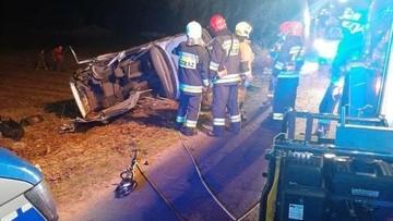 Wypadek w Warmińsko-Mazurskiem. Zginęło dwoje nastolatków