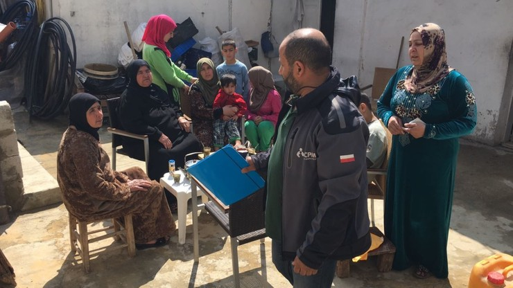 Syryjscy uchodźcy pomagają polskim archeologom w Libanie