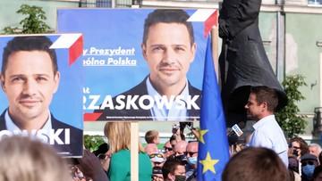 Groził spaleniem za plakat z Trzaskowskim. Postawiono mu zarzuty