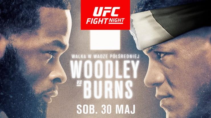 UFC: Woodley - Burns. Transmisja w Polsacie Sport