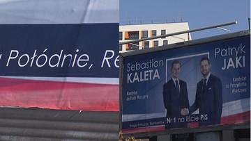 """Błąd na plakacie wyborczym. """"Zrezygnował z partii i z ortografii"""""""