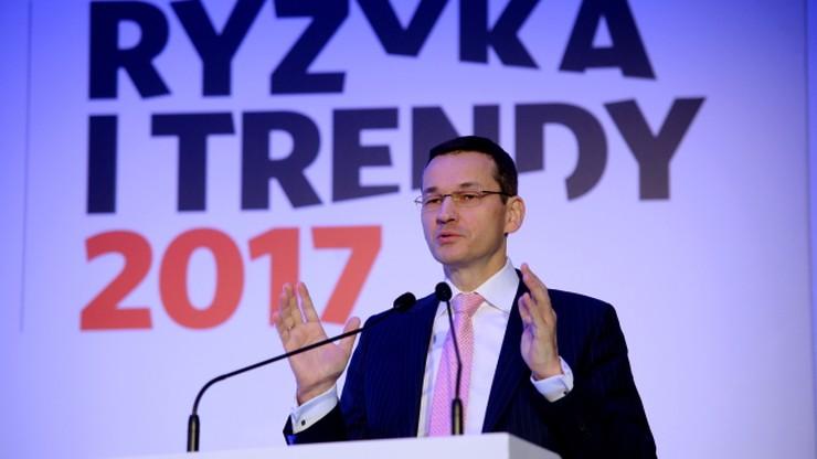Morawiecki: nie zamierzamy podnosić podatków