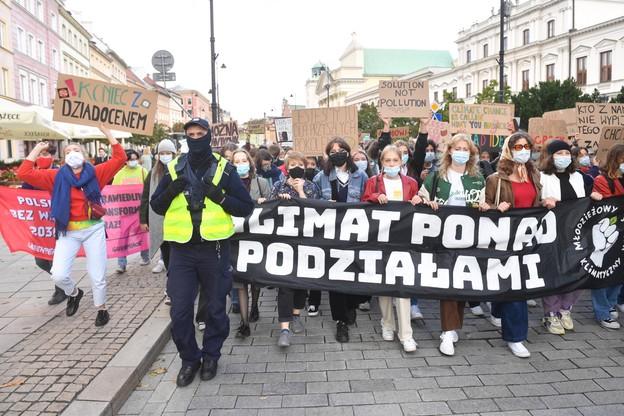 Młodzieżowy Strajk Klimatyczny, Warszawa