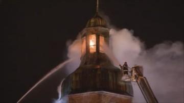 Podano przyczynę lipcowego pożaru w wieży gorzowskiej katedry. Jest opinia biegłych