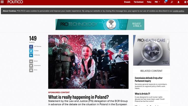 """""""Prawda o Polsce"""" - akcja PiS skierowana do zachodnich społeczeństw i mediów"""