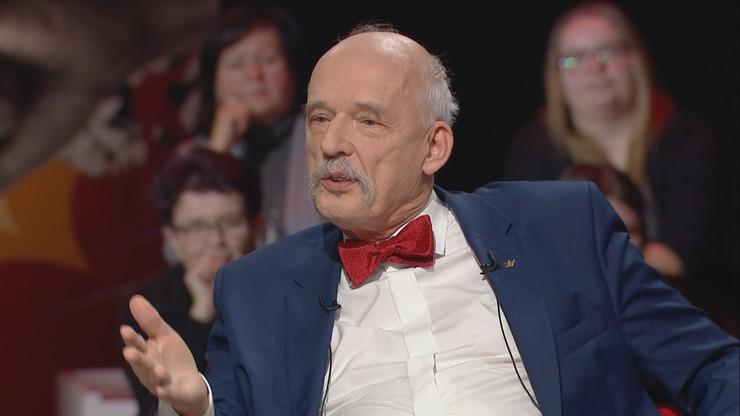 """""""Kobieta nie powinna wiedzieć, czy mężczyzna zakłada prezerwatywę"""". Korwin-Mikke w """"Skandalistach"""""""