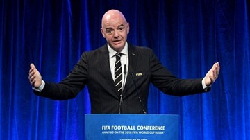 Szef FIFA ostrzegł przed zbyt wczesnym wznowieniem gry