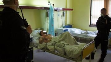 Zastrzelił policjanta z Raciborza. Został aresztowany w szpitalu