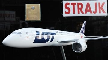 LOT wynajął dodatkowe samoloty z załogami na czas strajku związkowców
