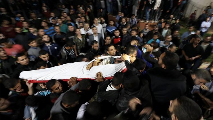 Izrael zbombardował tunel w Strefie Gazy. Zginęło ośmiu Palestyńczyków