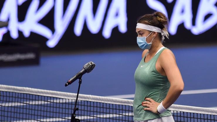 WTA w Ostrawie: Aryna Sabalenka górą w białoruskim finale