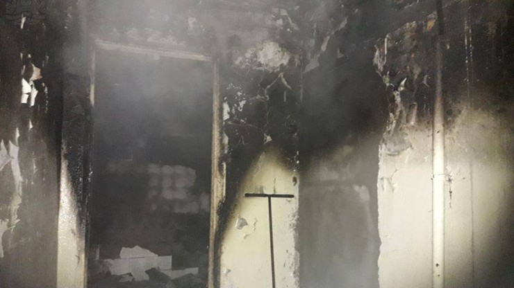 Pożar w szpitalu w Skierniewicach. Ewakuowano 21 osób, w tym głównie dzieci